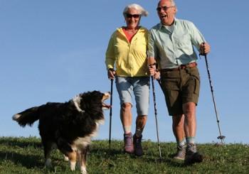 Пять главных плюсов скандинавской ходьбы